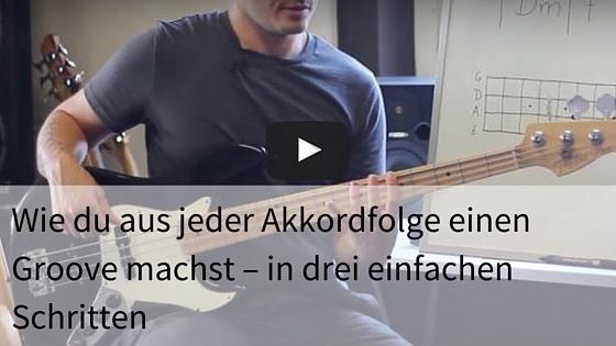 Akkorde Bass Groove